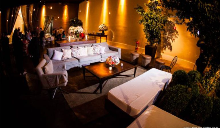 Lounge no Casamento