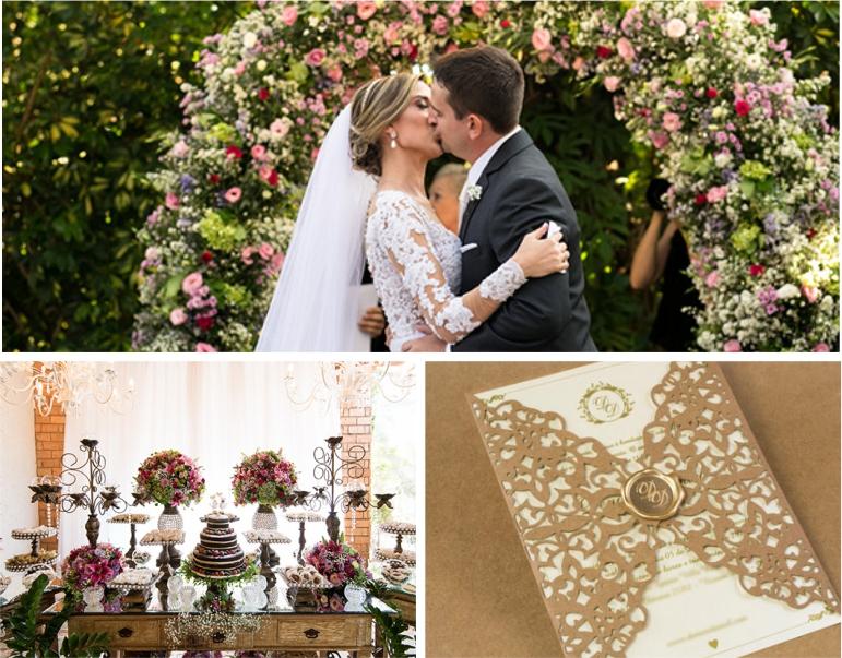 Decoração para Mini Wedding - Rústico