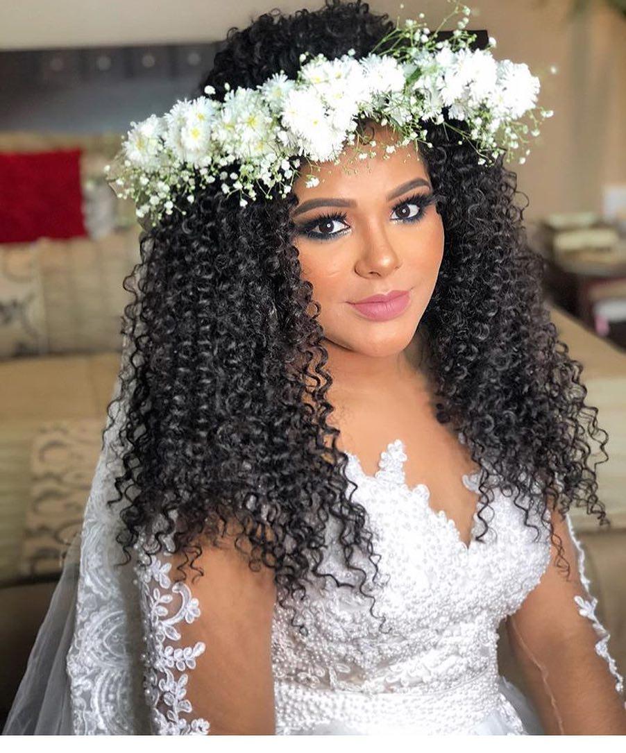 Maquiagem para Noiva: Casamento de Dia | Pele Negra