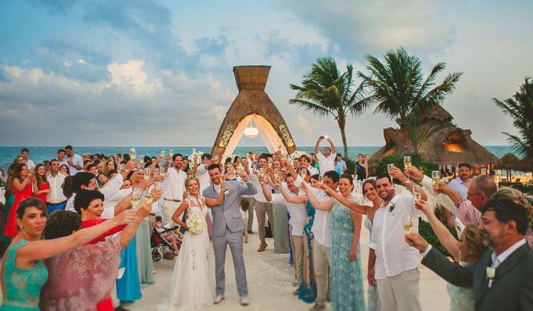 Thaeme marioto - Casamento na praia