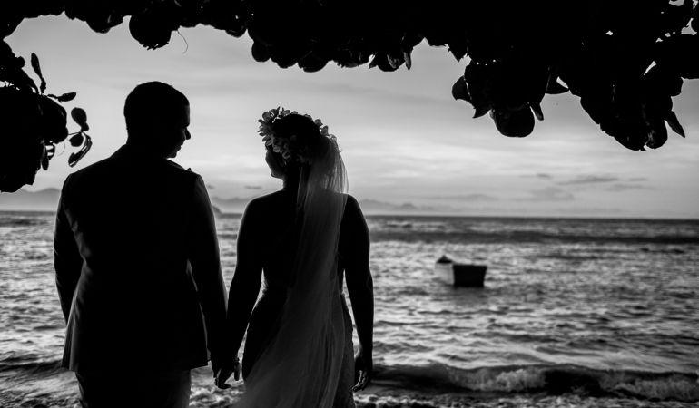 Noivos Beira mar