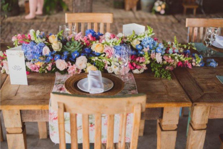 Paleta de cores de casamento