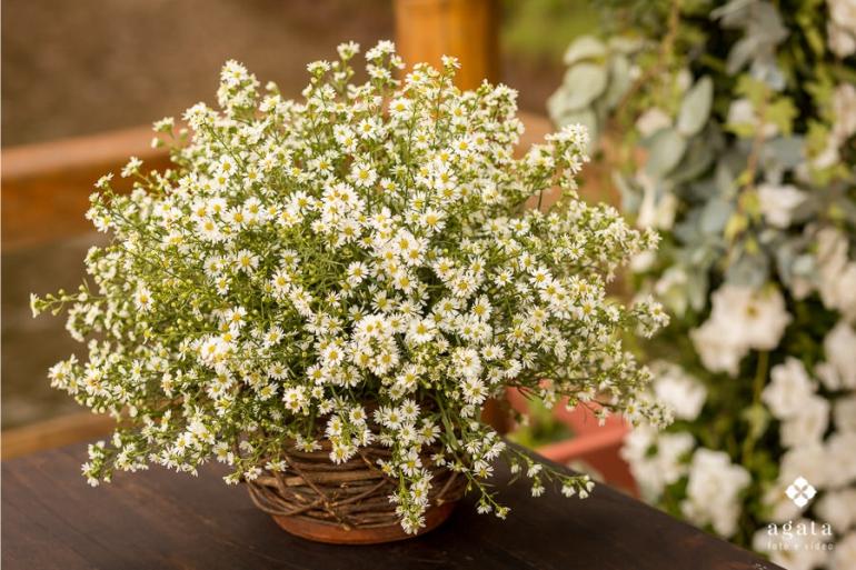 Flores para Casamento - Margaridinhas