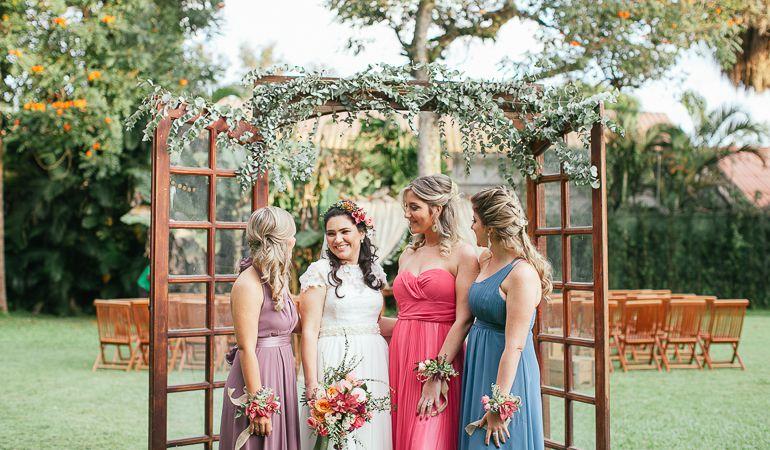 Vestido madrinhas de casamento