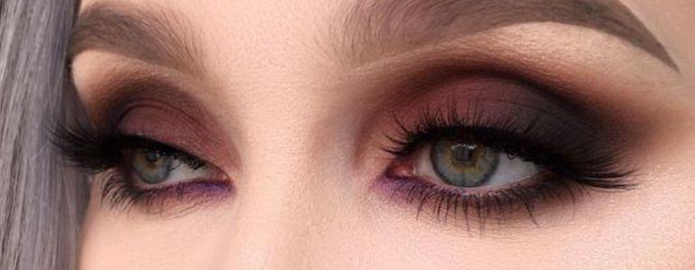 Maquiagem para olhos verdes