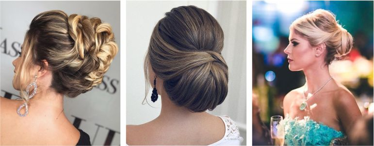 Penteado madrinha para casamento classico