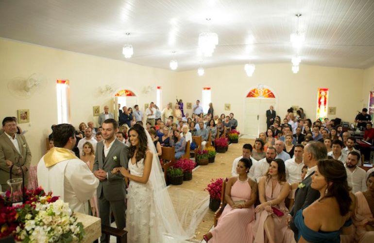 Cerimonia de Casamento na Capela