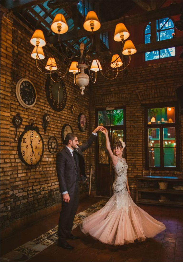 Dança dos noivos Casamento Vintage | Fotos: Renata Pineze