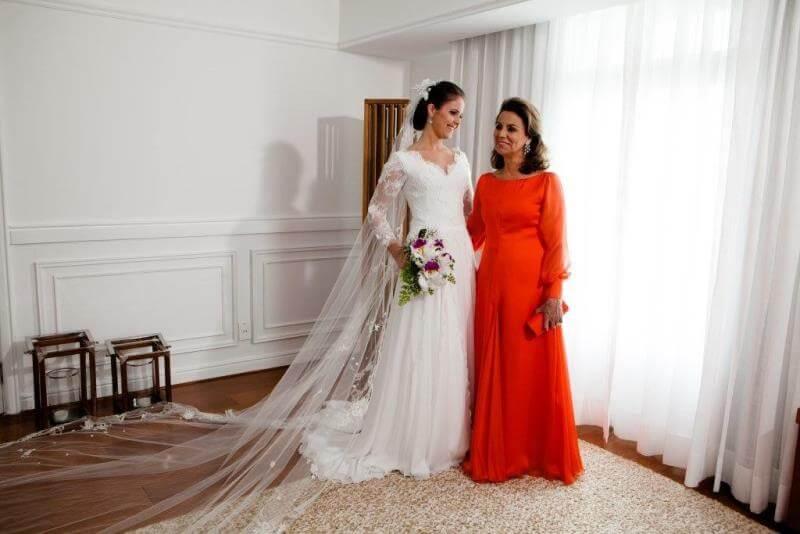 Mãe de noiva casamento rústico