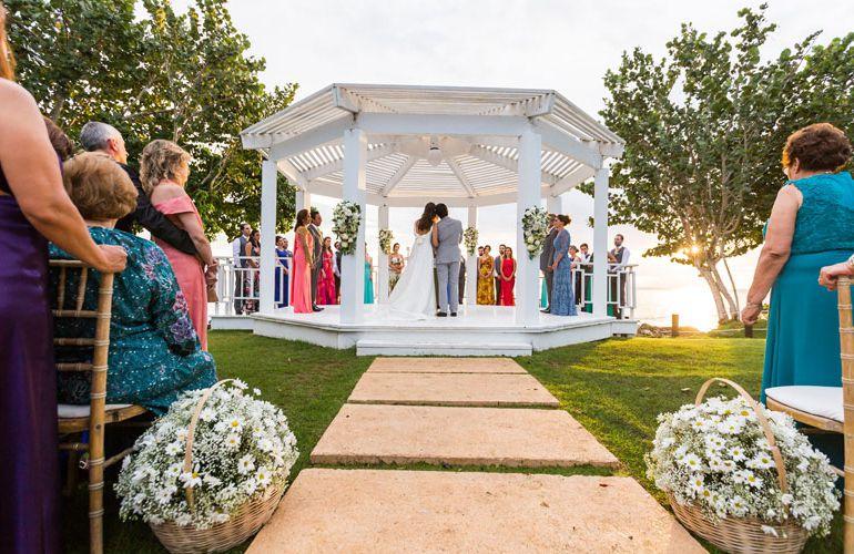 Cerimonia de casamento - Destination Wedding em Punta Cana