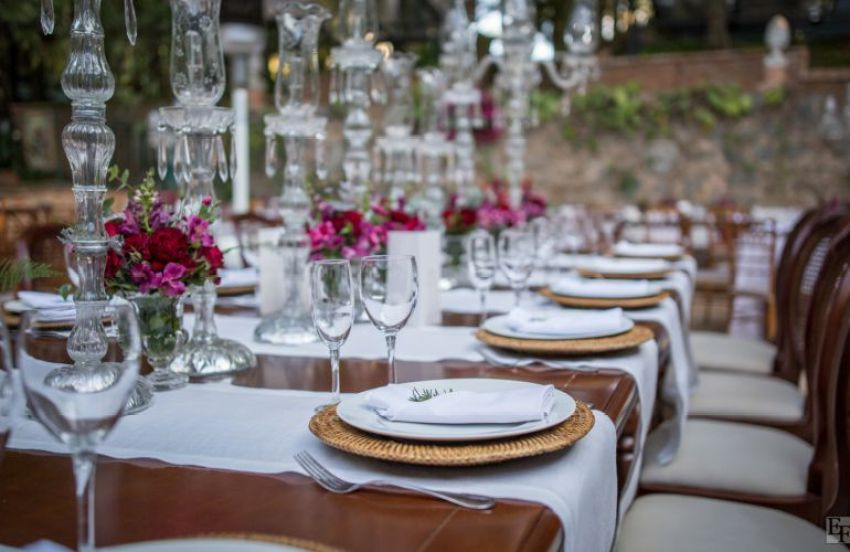 Buffet de Casamento no Campo