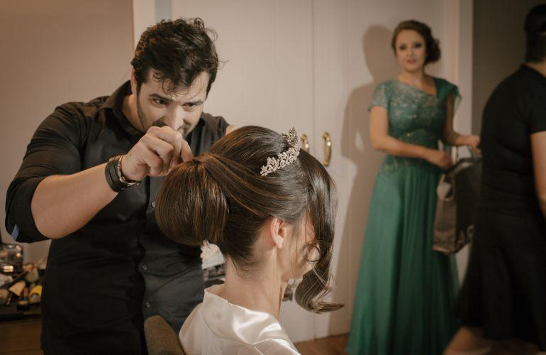Making Off Fotos de Casamento