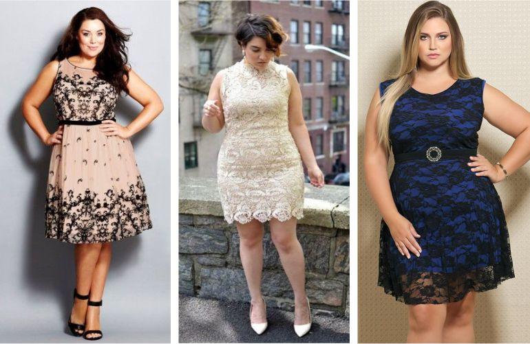 Vestidos de Festa Curtos Plus size