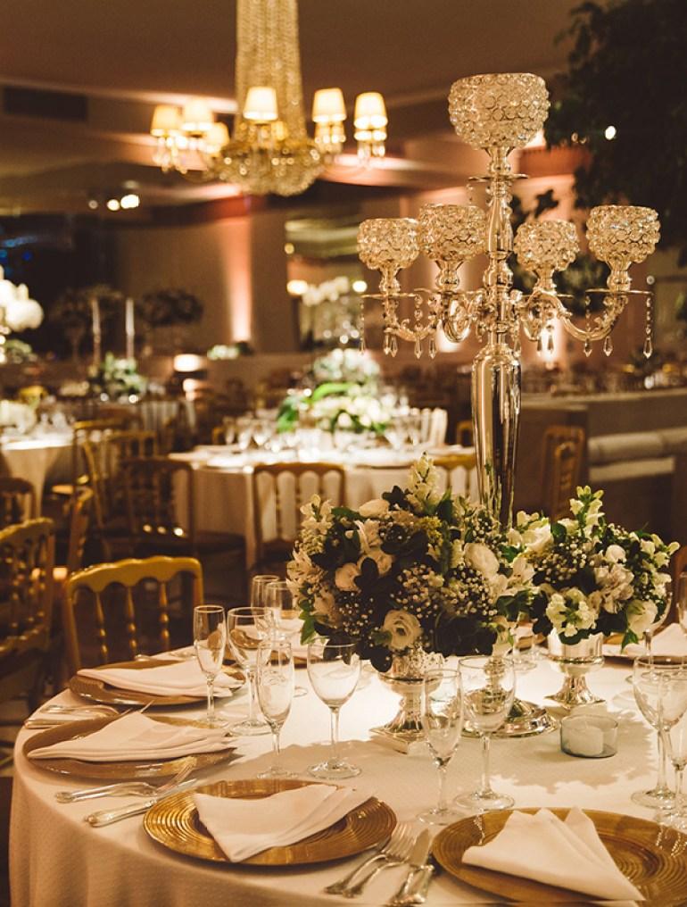 decoração de casamento clássico
