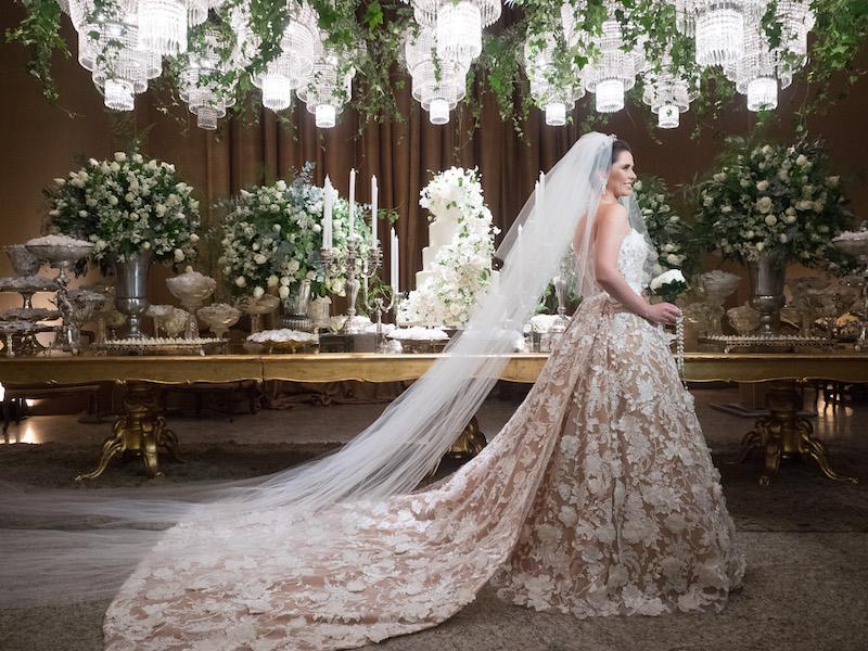 Vestido de noiva Junior Santaella