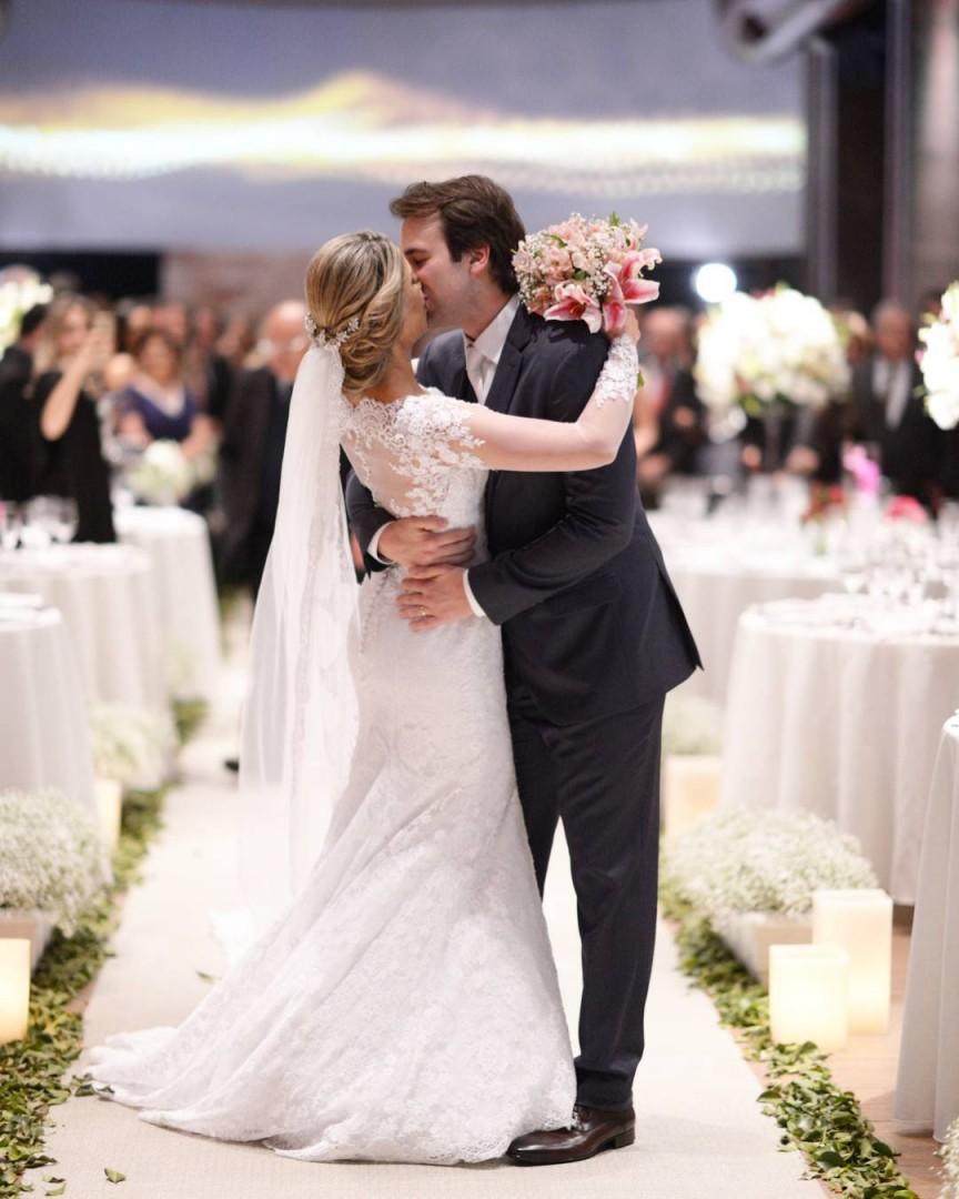 Beijo dos noivos Nilson Versatti