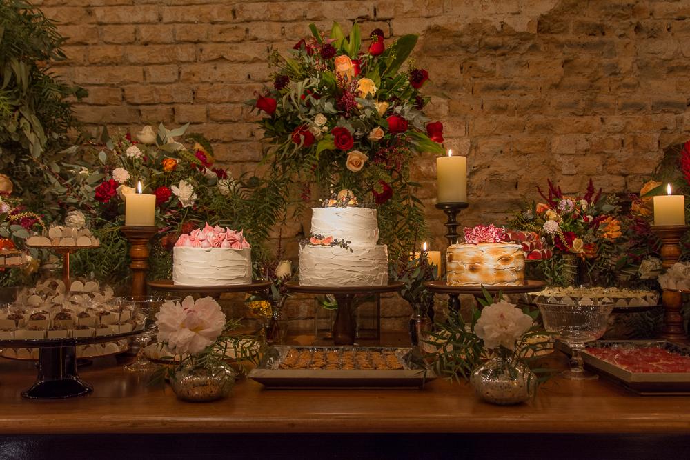Bolos para mini wedding