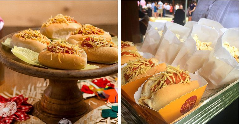Mini Hot-dog Casamento