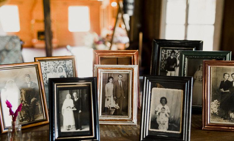 Fotos da Família Decoração de casamento Simples