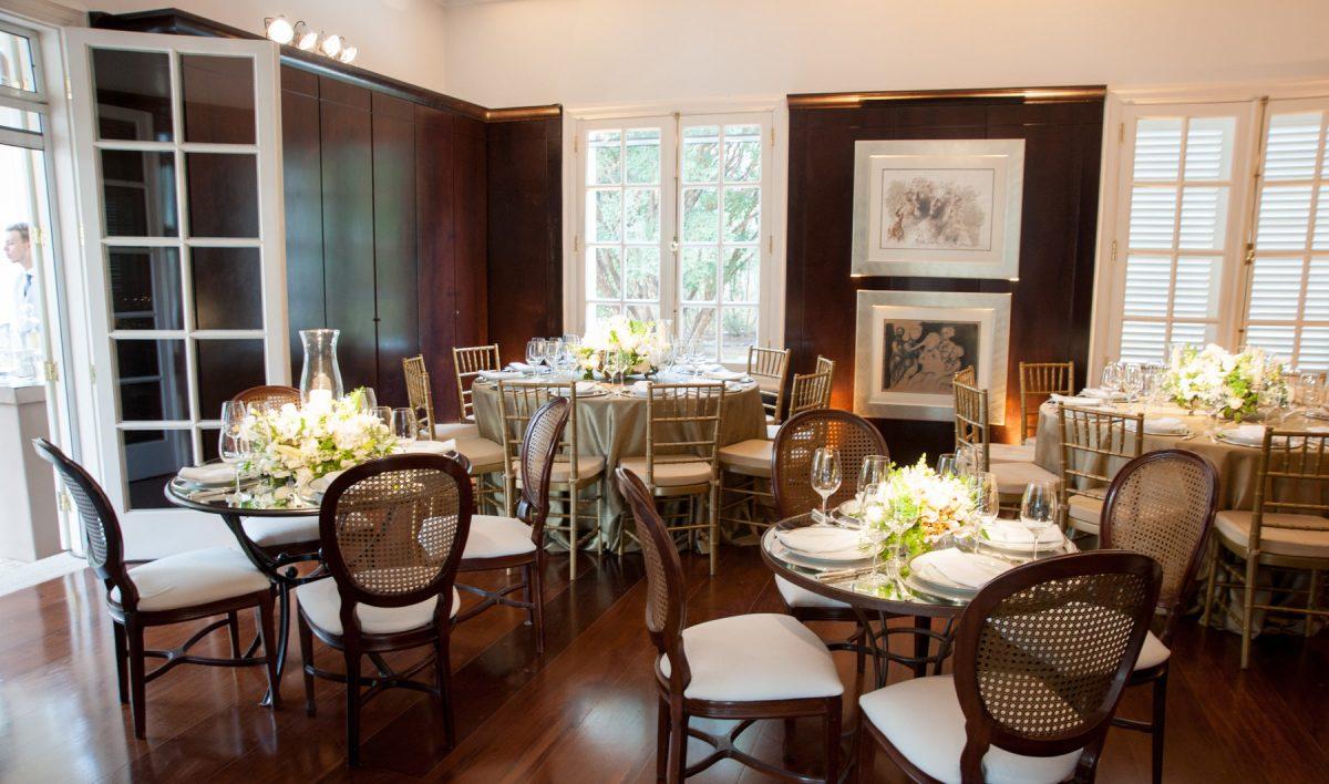Mobiliário de casamento clássico
