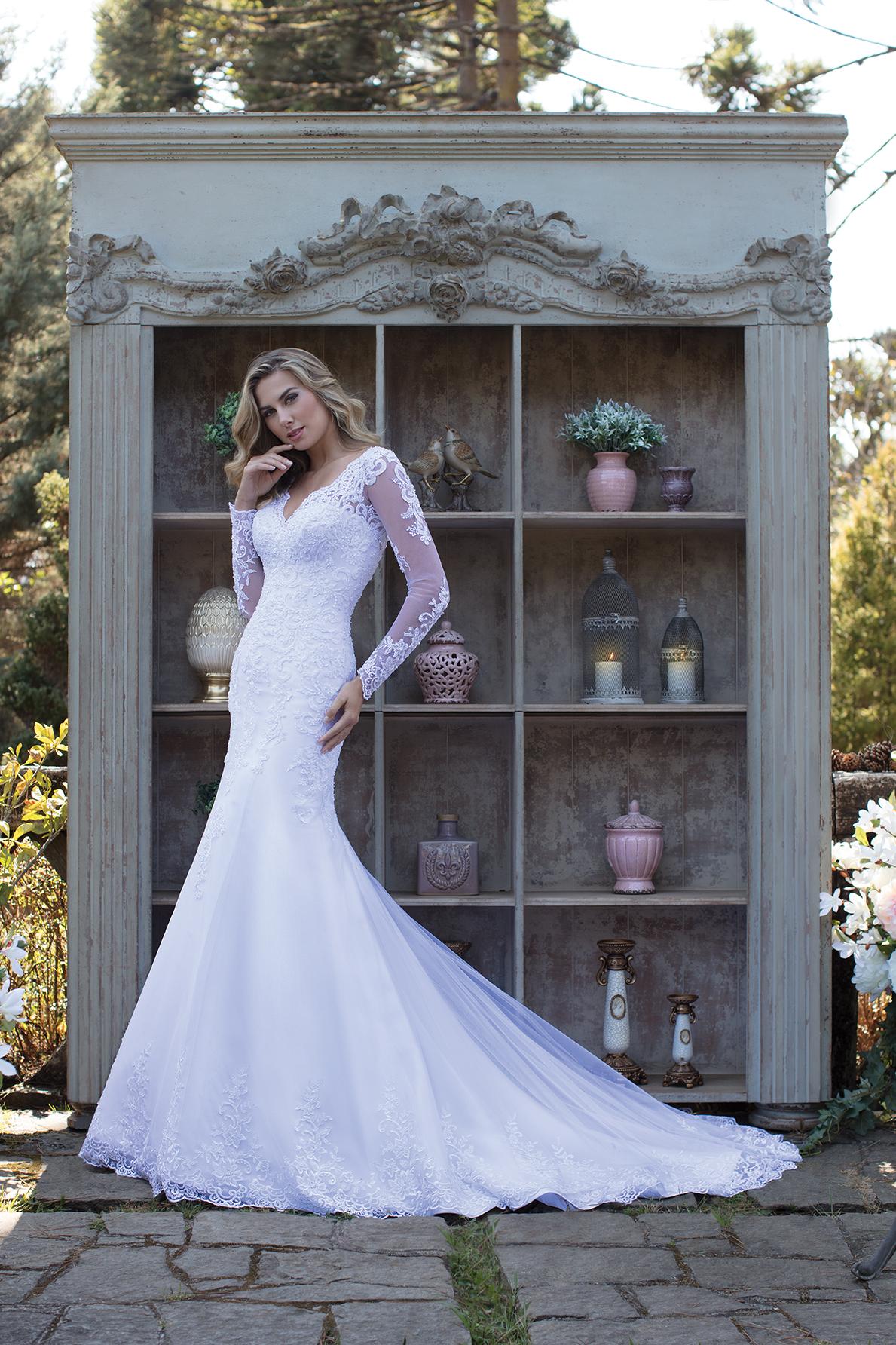 Inspirações para vestidos de noiva - Modelo Acácia