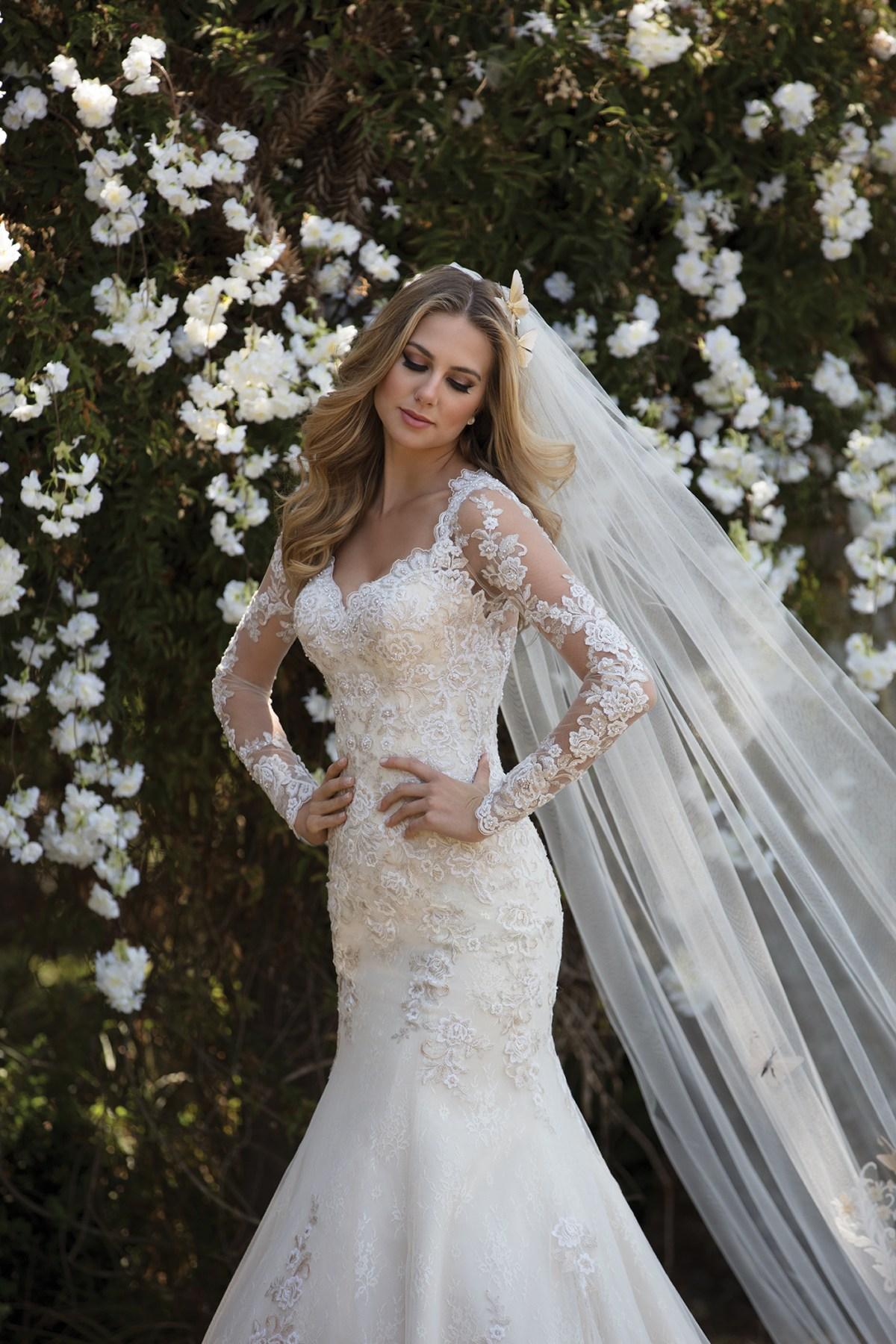 Inspirações para vestidos de noiva - Modelo Estrelícia