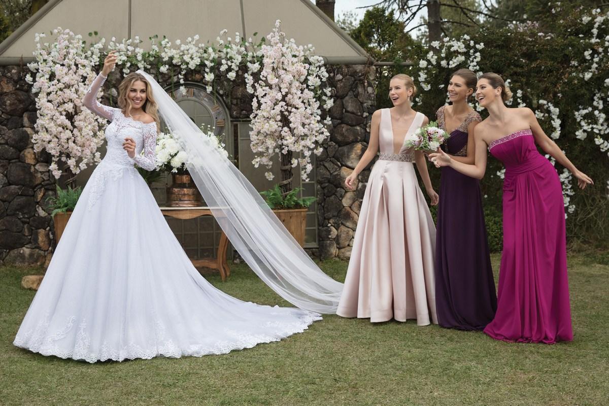 Inspirações para vestidos de noiva - Modelo Hibisco
