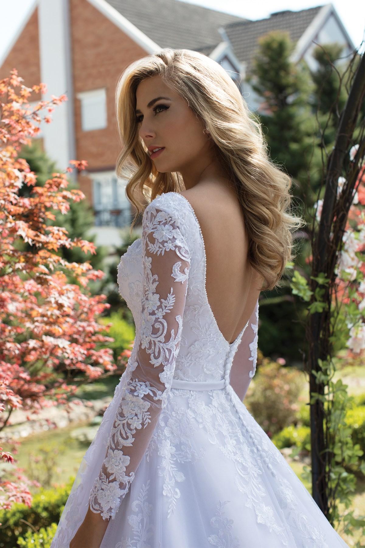 Inspirações para vestidos de noiva - Modelo Lírio