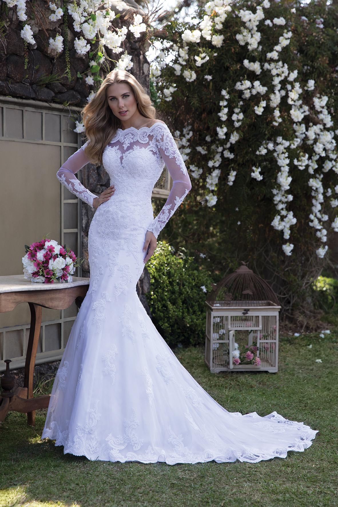 Inspirações para vestidos de noiva - Modelo Lisianto