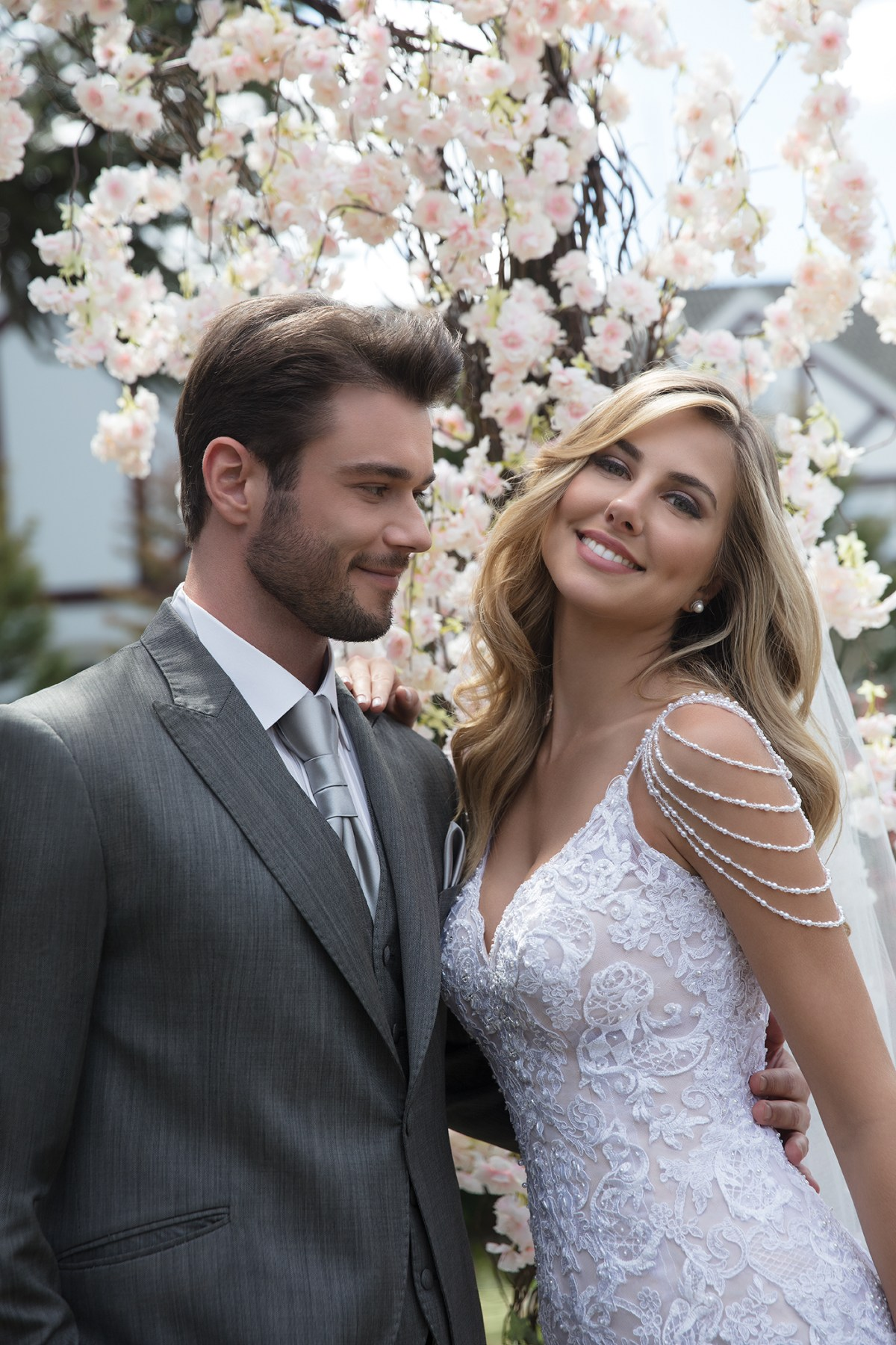 Inspirações para vestidos de noiva - Modelo Peônia