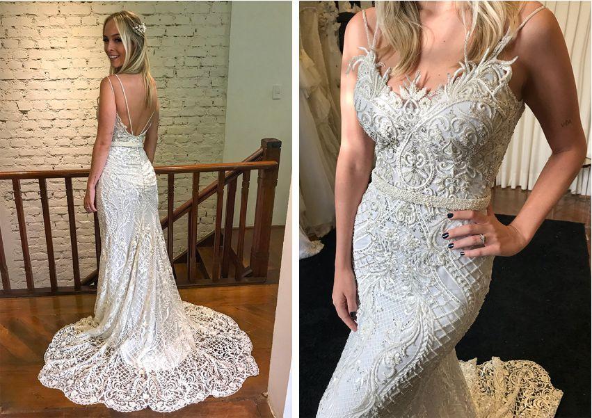 Vestido de noiva Tata