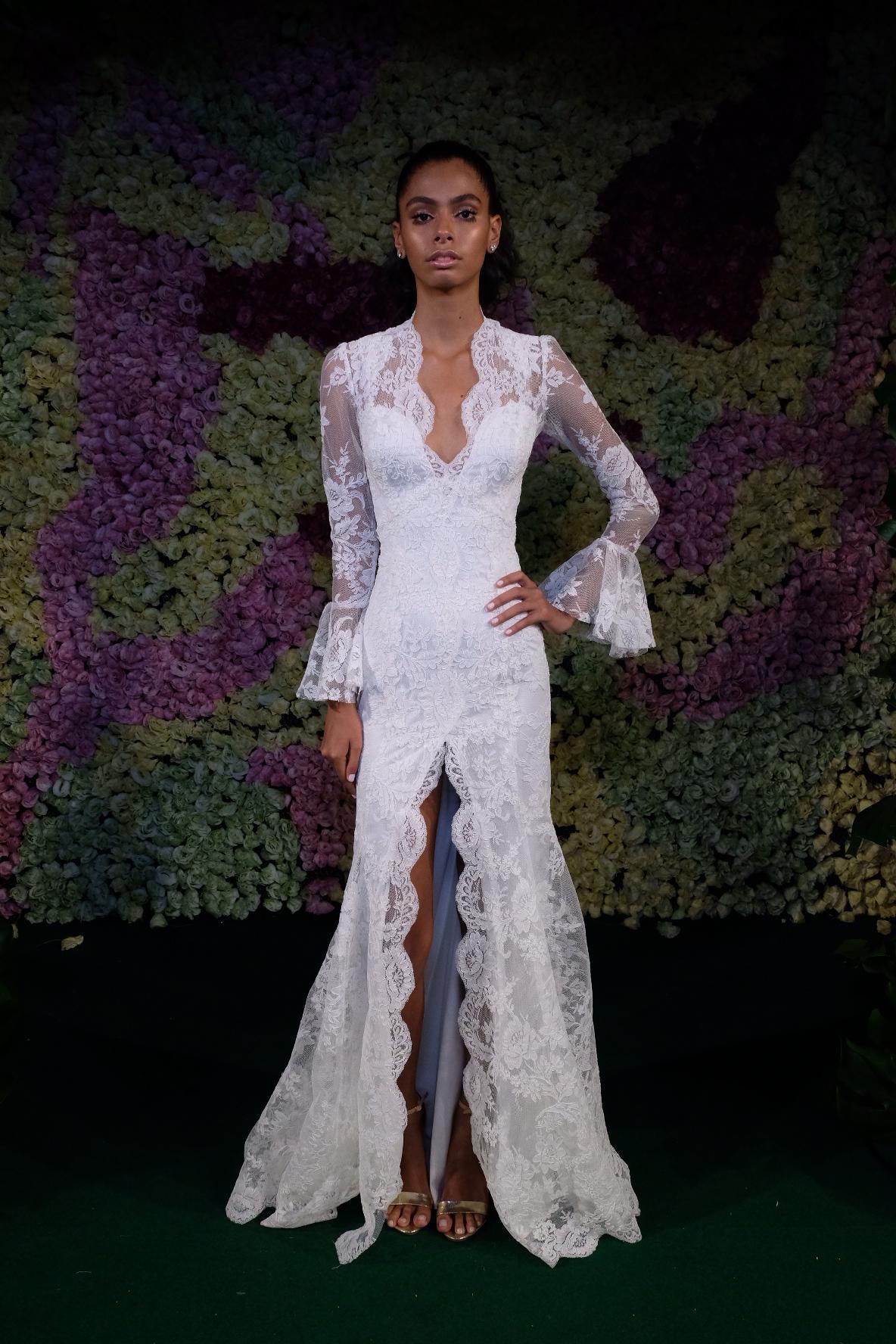 Desfile da nova coleção White laces 2018 de Lethicia Bronstein