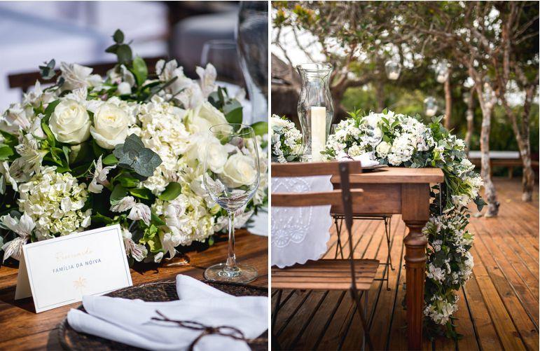 Decoração de Festa de Casamento Branca