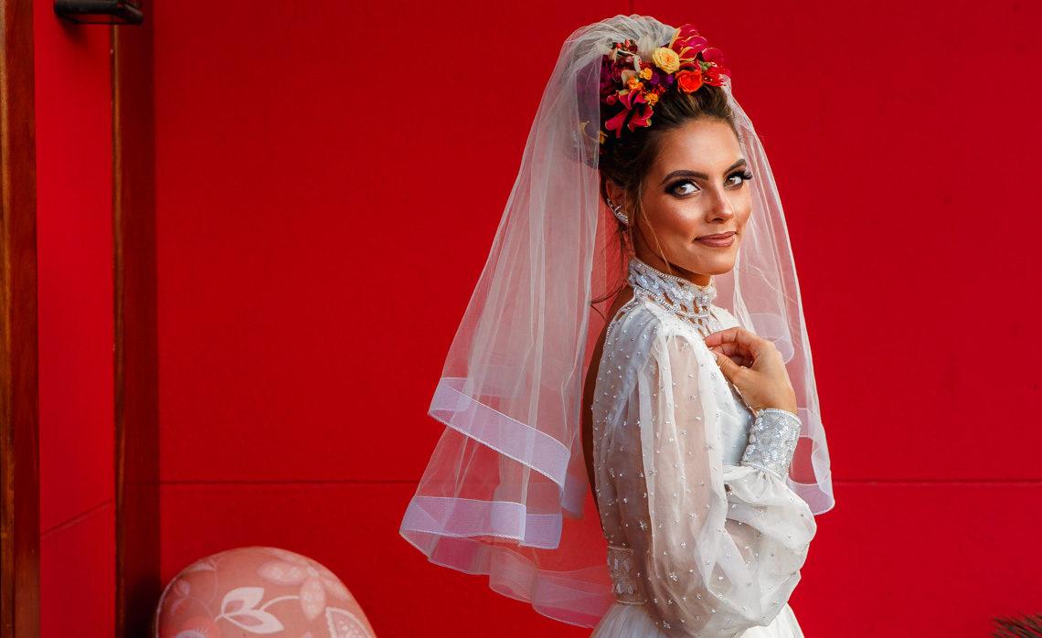Estilos de beleza da noiva: noiva moderna   Pedro Wolf