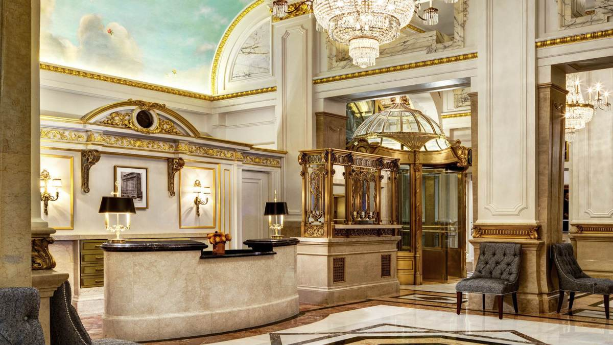 St. Regis Lobby New York