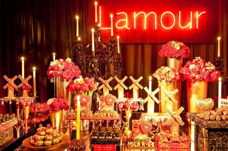 Chá de Lingerie Moulin Rouge