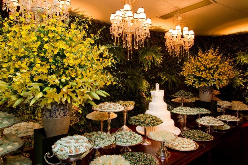 Decoração de casamento amarela Iza Urbinati