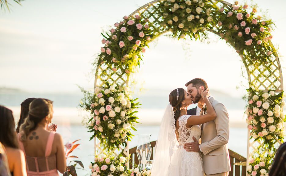 Casamento à tarde | Foto: Milena Reinert