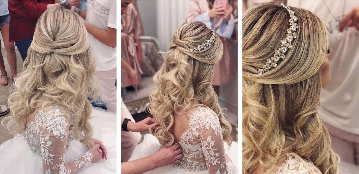 Noiva de cabelo solto