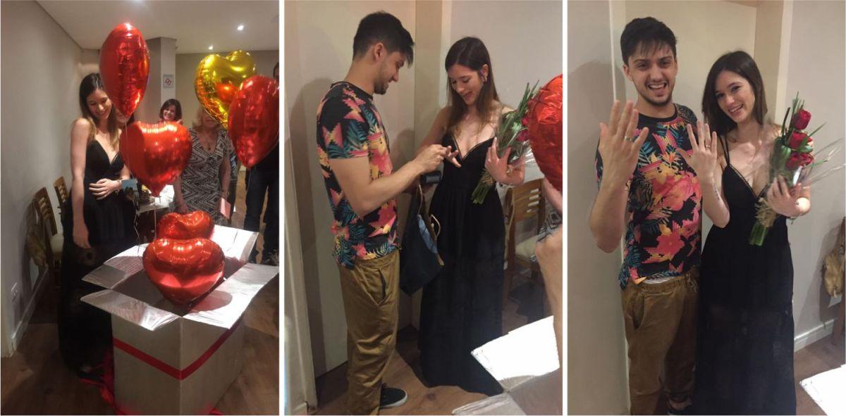 O pedido de casamento! | Giovanna e Bruno