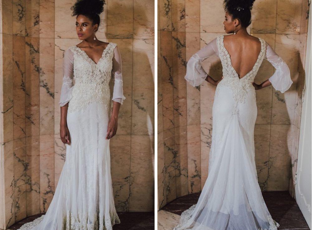 Vestido de noiva de 40 anos | Vestido: Atelier Jardim Secreto