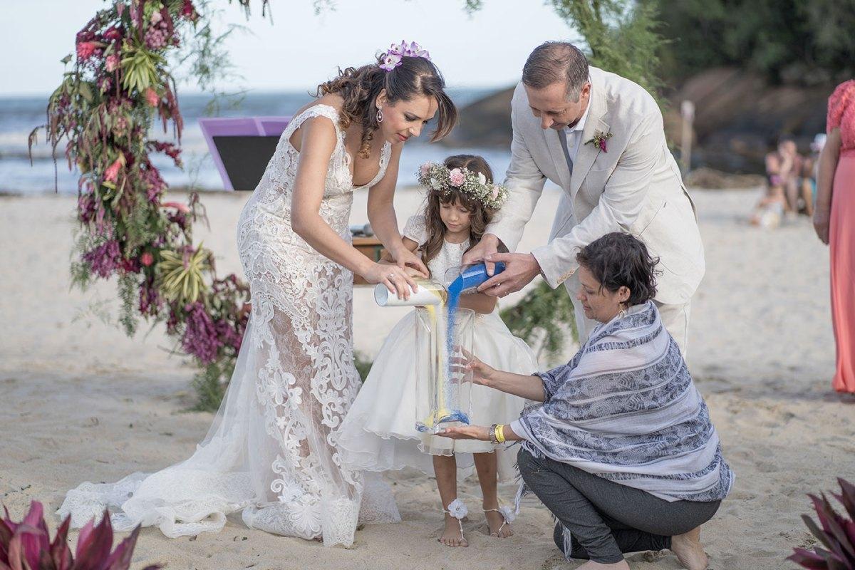 Rituais para cerimônia de casamento: Areias