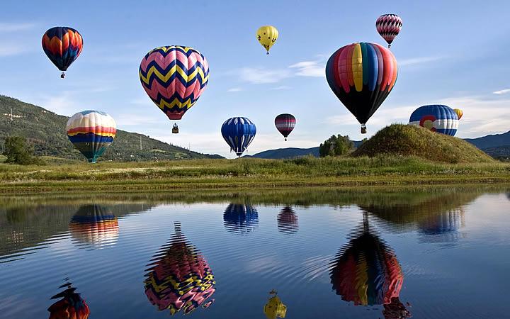 Passeio de balão em Boituva