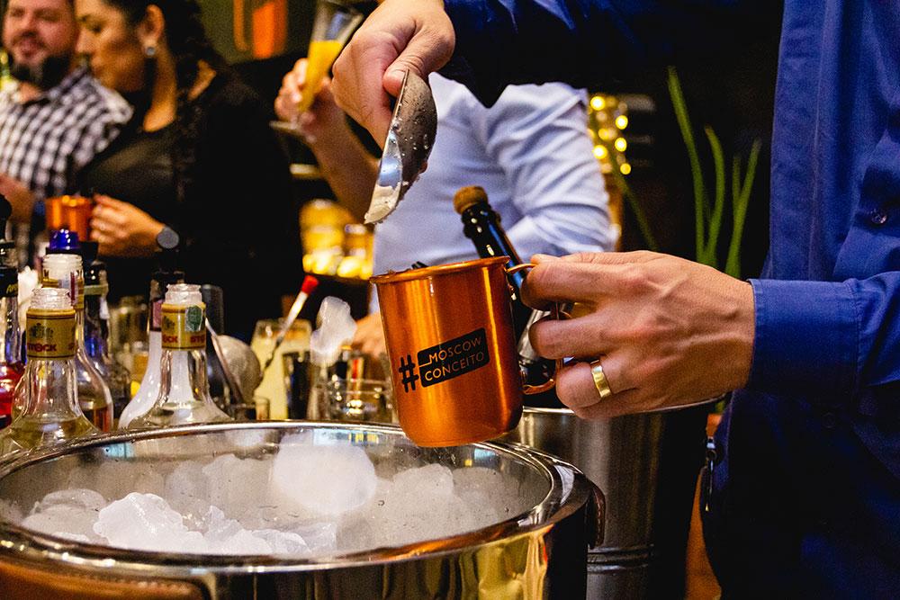 Worshop de drinks - Portfólio Premium
