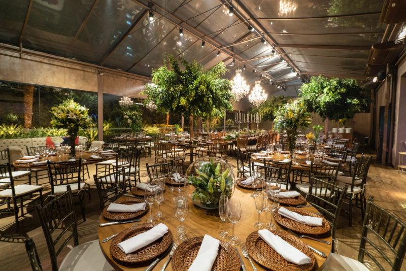 Decoração de casamento botânica - Casa Traffô