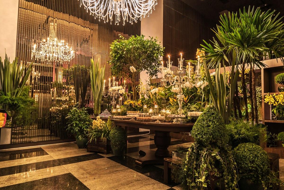 Decoração de casamento botânica - Espaço Villa Bisutti Berrini