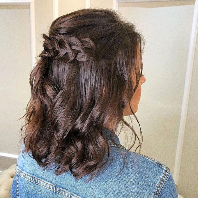 Penteado de cabelo curto   Blog de Casamento para Noivas   Aceito Sim