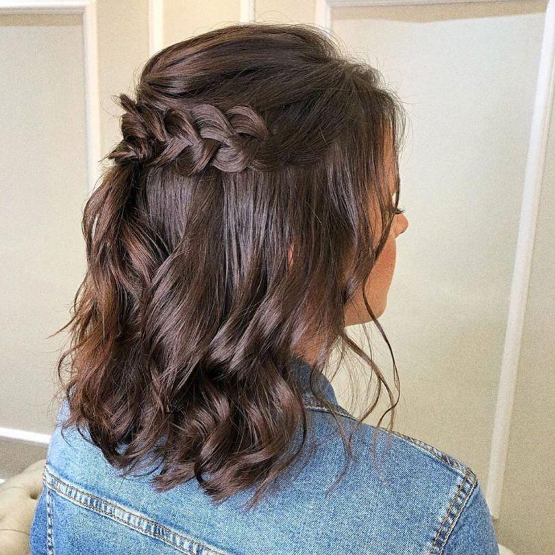 Penteado de cabelo curto | Blog de Casamento para Noivas | Aceito Sim