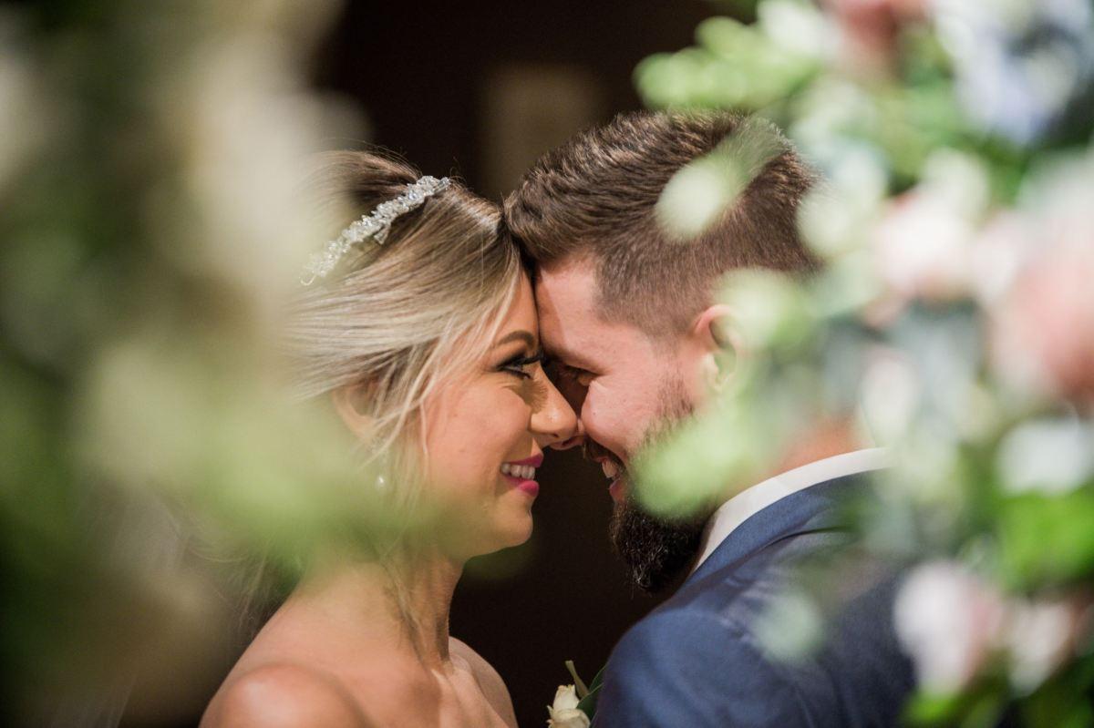 casamento tradicional e romântico