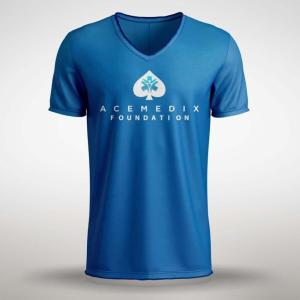 Acemedix Foundation Shirt – Blue